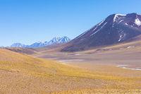Chile Atacama desert Andean volcanoes