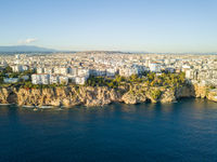 Aerial View Coast Apartments Yavuz Ozcan Antalya