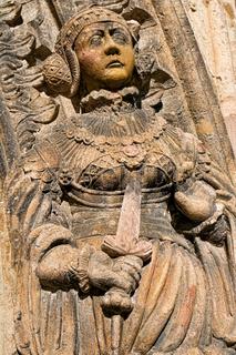 Chemnitz, Judith-Lucretia-Portal Detail
