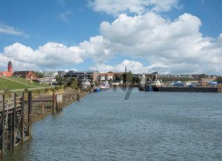 im Hafen von Buesum in Nordfriesland,Nordsee,Schleswig-Holstein,Deutschland