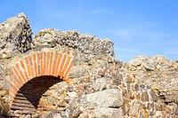 Detail of a Roman amphitheatre. Was seen in Merida