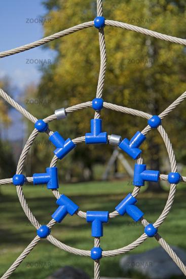 Spider web - play equipment for children