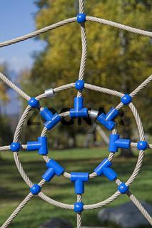 Spinnennetz - Spielgerät für Kinder