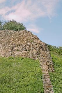 Historische Stadtmauer, Rheinau, Kanton Zürich, Schweiz