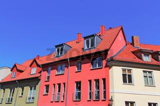 Sanierte Häuser