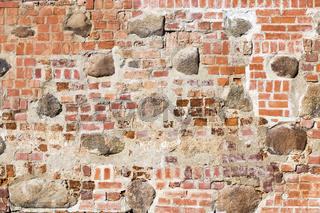 stone brick wall restoration