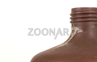 Photo developing equipment - Plastic bottle with chemicals