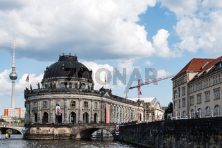 Scenic view of Spree river and Museum Island in Berlin