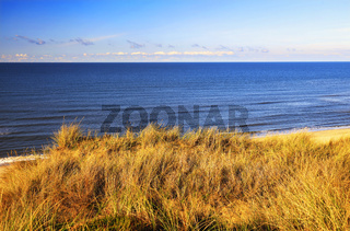 The Red Cliff near Kampen, Sylt, Germany, Europe
