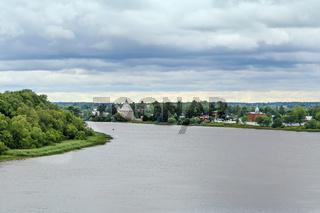 Volkhov river, Russia