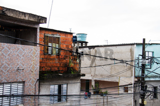 Houses of the favela.