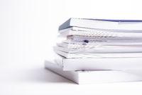 stack of broshures
