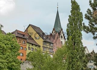 Altstadt Engen  mit Stadtkirche Mariä Himmelfahrt