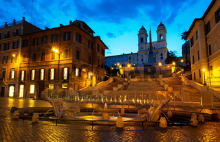 Spanish Steps and Fontana