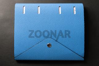 blue pocketbook