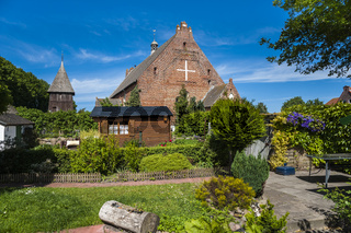 Petrikirche in Landkirchen auf der Insel Fehmarn