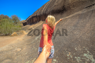 Follow me Wave Rock