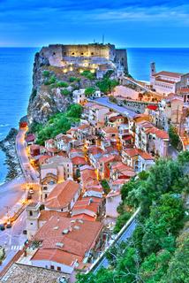 The city of Scilla in the Province of Reggio Calabria