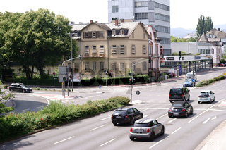 Verkehr auf dem Hessenring Bad Homburg
