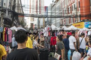 THAILAND BANGKOK PRATUNAM TEXTILE MARKET