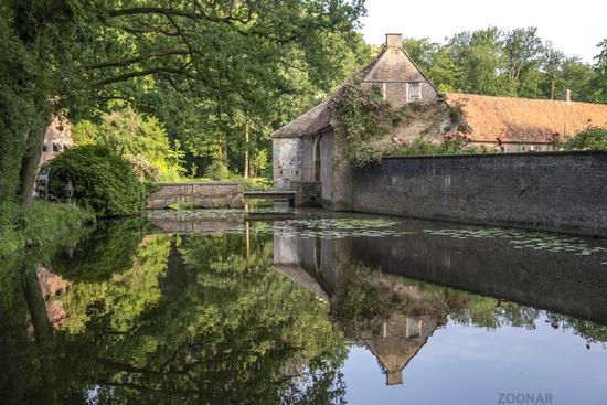 Zugbruecke and Torhaus Wasserburg House Welbergen