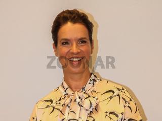 ehemalige deutsche Eiskunstläuferin Kati Witt bei der 11.GRK Golf Charity Masters Leipzig 2018