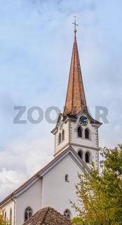 Evangelische Kirche St. Dionysius, Diessenhofen, Kanton Thurgau, Schweiz