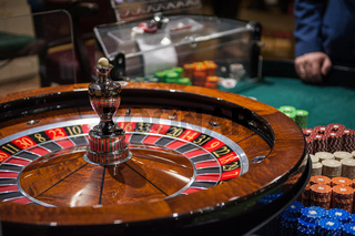 Casino, gambling and entertainment concept