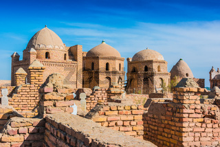Historical Mizdakhan Necropolis around the city of Nukus in Uzbekistan