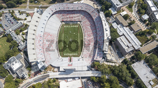 Aerial Views Of Sanford Stadium