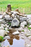 Danube origin - Breg source - Furtwangen Black Forest Germany