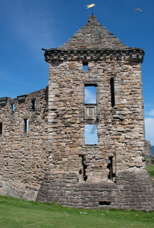 Ruins of St Andrews Castle Scotland