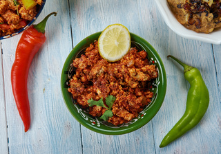 Hyderabadi chicken keema