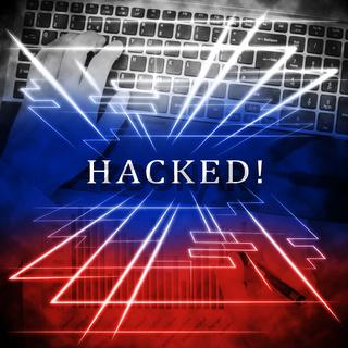 Hacker Typing Hacked Data Alert 3d Illustration
