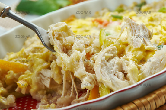 Fajita Chicken Casserole