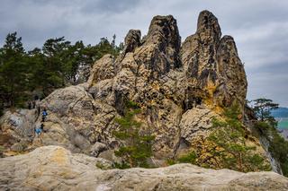 Bilder von der Teufelsmauer bei Blankenburg im Harz