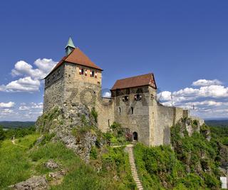 Mittelalterliche Burg Hohenstein bei Nürnberg, Deutschland