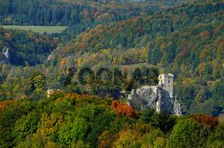 Burgruine Neideck, Wiesenttal, Fraenkische Schweiz, Franken, Bayern