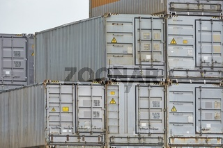 Stacked Refigerated Containers
