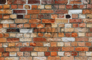 vintage brick wall texture as background