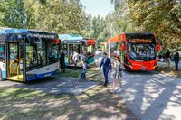 Electric buses at Innotrans 2018