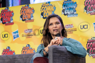DORTMUND, GERMANY - December 1st 2018: Nia Peebles at German Comic Con Dortmund
