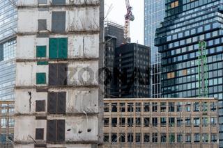 Hochhausbau im Bankenviertel