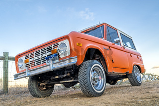 Vintage, first generation,  Ford Bronco ranger wagon