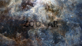 Night sky with lot of shiny stars, natural astro background. Element of this image furnished by NASA