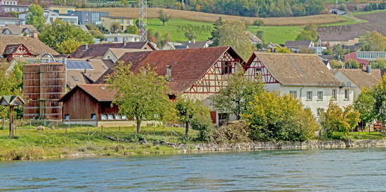 Agricultural Buildings in Flurlingen, Canton Zürich, Switzerland