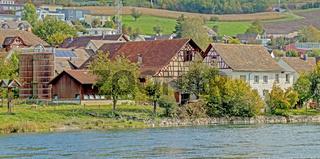 Bauernhof in Flurlingen am Hochrhein, Kanton Zürich,  Schweiz