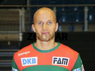 deutscher Handballer Tim Hornke SC Magdeburg DHB Liqui Moly HBL Handball-Bundesliga Saison 2019-20