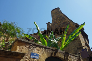 Sarlat la Canéda in Frankreich Stadtansicht