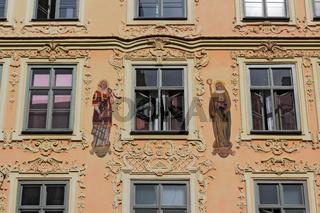 Fassade am Ickstadthaus